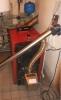 Pellet burner BurnPell X.Mini (26 kW) installed in solid fuel boiler VIADRUS