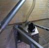 Installed pellet burner X.260 (260 kW) in malt drying furnace