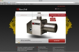 New website about pellet burners BurnPell is launched