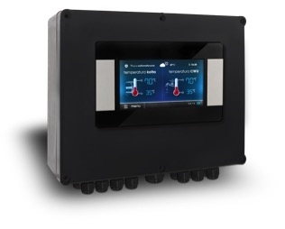 Control panel with LCD display S.Control ecoMAX TOUCH (for EVO and HYBRID series)