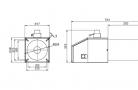 Rotary pellet burner BurnPell EVO 120 (120 kW)