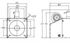 Pellet burner BurnPell X 260 (260 kW)